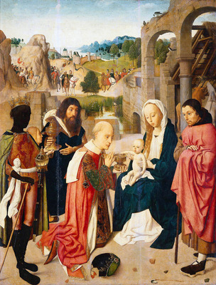 Sint Jans tot Geertgen Adoration of the Kings Sun