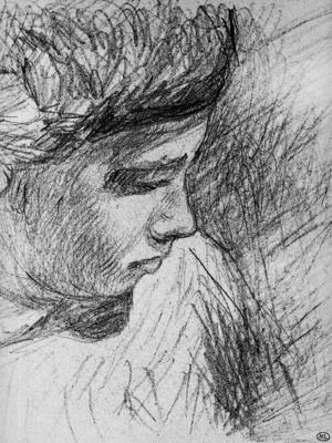 Sisley Alfred Boy en profil Sun