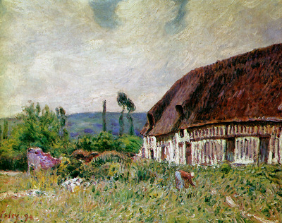 Sisley Alfred Farmhouse in Normandie Sun