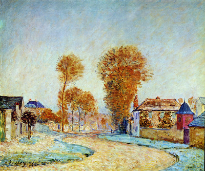 Sisley Alfred First blossom Sun