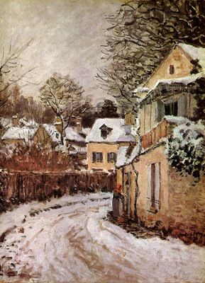 Sisley Alfred Street in Louveciennes Sun