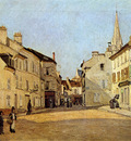 Sisley Alfred Place in Argenteuil Sun