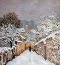Sisley Alfred Snow in Louveciennes Sun