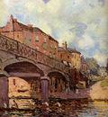 Sisley Alfred The bridge at Hampton Sun
