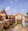 Sisley Alfred The bridge in Moret Sun