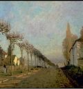 Sisley Chemin de la Machine, Louveciennes, 1873, 54x73 cm, M
