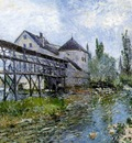Sisley Provenchers mill at Moret, 1883, 54x73 cm, Museum Bo