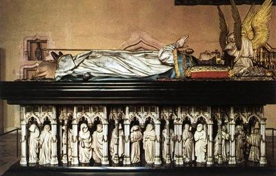 Sluter Tomb of Philip the Bold Duke of Burgundy