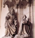 sluter memorial to philip the bold detail