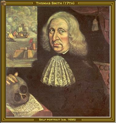thomas smith self portrait 1690 po amp