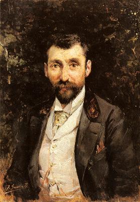 Bastida Joaquin Sorolla Y Portrait Of A Gentleman
