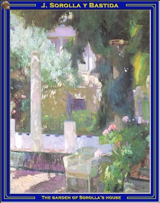 PO Vp S2 03 Sorolla The garden of Sorollas house