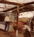 Bastida Joaquin Sorolla y Two Men On A Deck