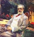 sorolla raimundo de madrazo in his paris garden