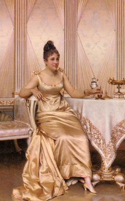 Soulacroix Charles Joseph Frederic Afternoon Tea