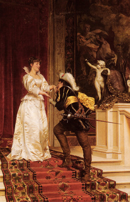 Soulacroix Charles Joseph Frederic The Cavaliers Kiss