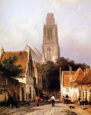Springer Cornelis Church in Zaltbommel Sun
