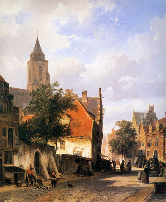 Springer Cornelis Church in Zaltbommel