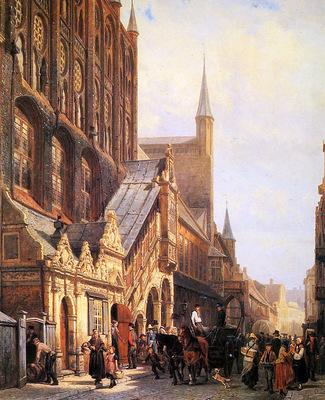 Springer Cornelis Cityhall in Lbeck Sun