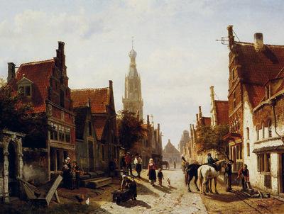 Springer Cornelis Market Oudewater Sun