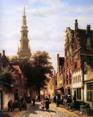 Springer Cornelis Walenkerk Haarlem Sun