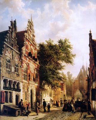 Springer Cornelis Weeshuis in Enkhuizen Sun