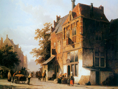 Springer Cornelis Westermarket in Amsterdam Sun