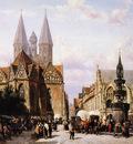 Springer Cornelis Altstadtmarkt in Brunswijk Sun