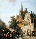 Springer Cornelis Marketview with cityhall Woerden Sun