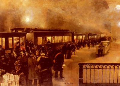 Stahl Friedrich The Night Train