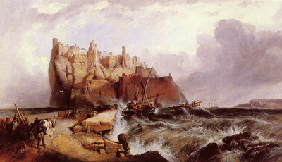 Stanfield Clarkson The Castle Of Ischia