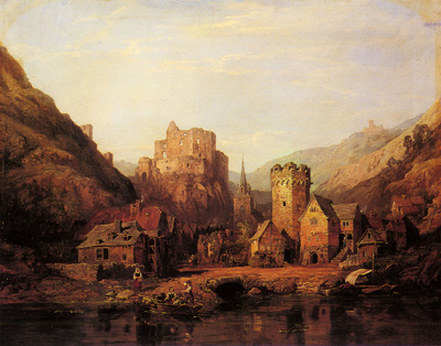 Stanfield George Clarkson Balduinstein On The Lahn