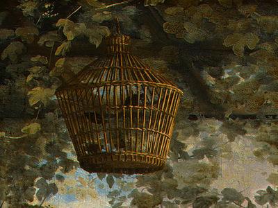 STEEN,J  THE DANCING COUPLE, DETALJ 8, 1663, NGW