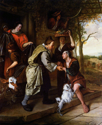 Steen Jan Return of the prodigal son Sun