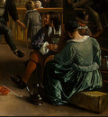 STEEN,J  THE DANCING COUPLE, DETALJ 15, 1663, NGW