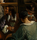 STEEN,J  THE DANCING COUPLE, DETALJ 16, 1663, NGW