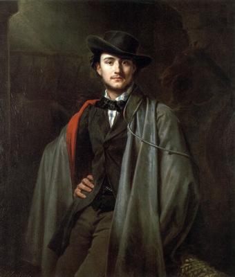 Bildnis des Malers Baron Jessenack von Bela