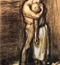 Steinlen, Theophile Alexandre The Kiss end