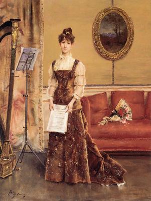 Stevens Le Femme a la Harpe