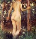 Stewart Julius LeBlanc Study Of A Nude Woman