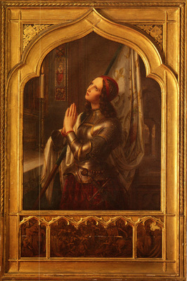 Stilke Hermann Anton Joan Of Arc In Prayer