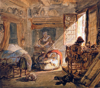 Strij van Abraham Cobbler and his family Sun