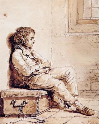 Strij van Abraham Sitting boy Sun