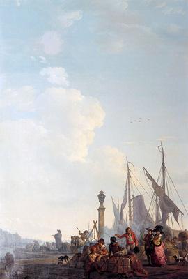 Strij van Abraham The foreign trade Sun