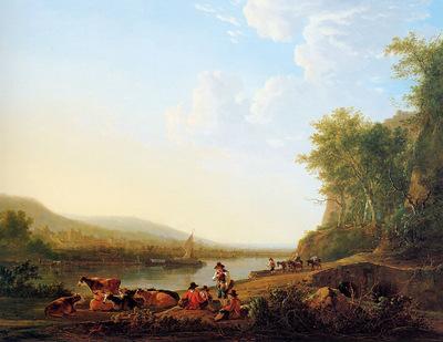 strij van jacob mountainous riverlandscape