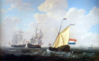 Strij van Jacob Yacht of VOC Sun