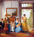 Strij van Abraham Hendrik Weymans and his family Sun