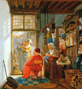 Strij van Abraham Interior of wool and sheetshop Sun