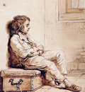 Strij van Abraham Sitting boy Sun