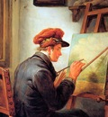Strij van Abraham The artists son Sun